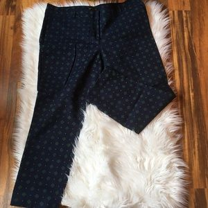 Dalia patterned ankle pants 12